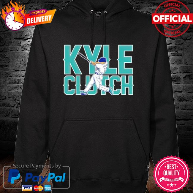 Seattle mariners kyle seager playing s hoodie black