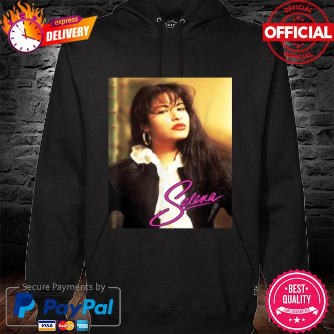 Selenas quintanilla love signature s hoodie black