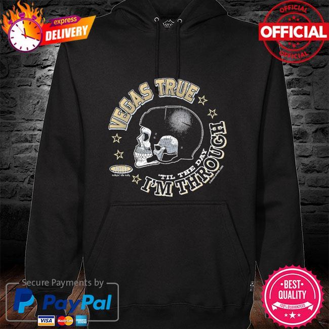 Skull Vegas pro hockey apparel hoodie black