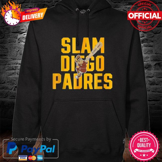 Slam diego padres s hoodie black