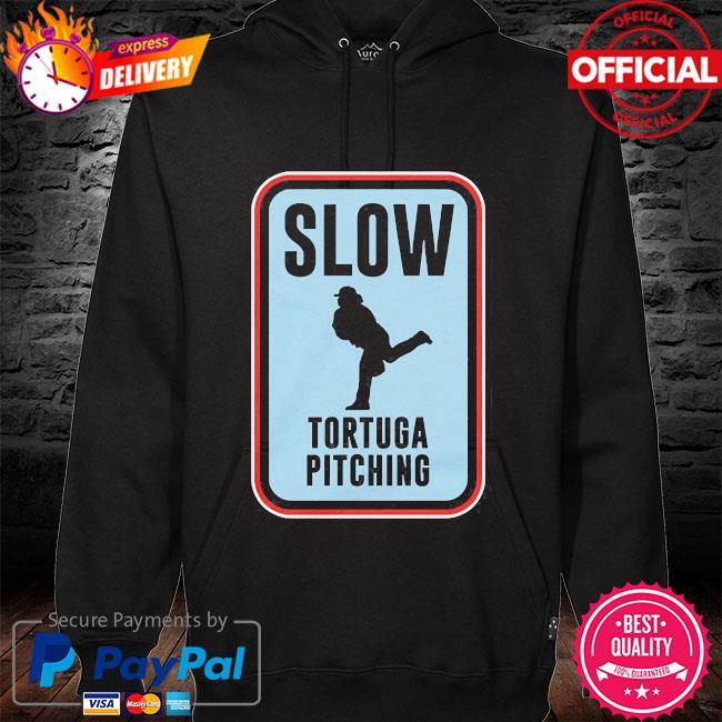 Slow tortuga pitching 2021 s hoodie black
