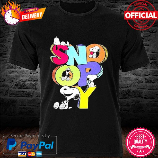 Snoopy cute shirt