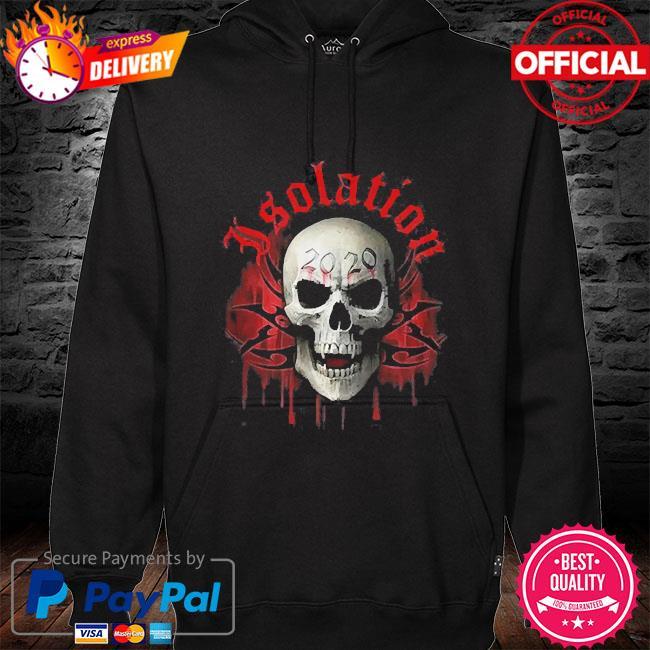 Spiral social distance skull 2021 hoodie black