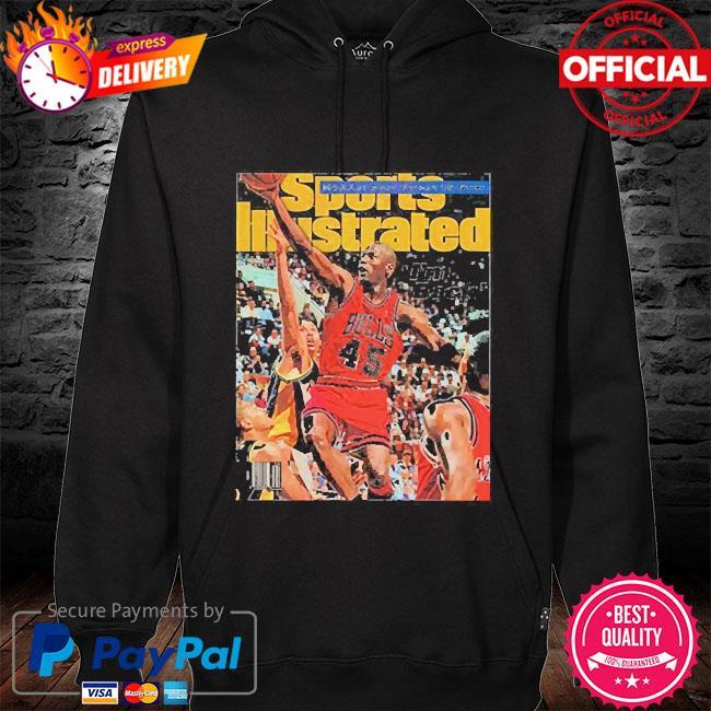 Sports illustrated march 1995 jordan hoodie black