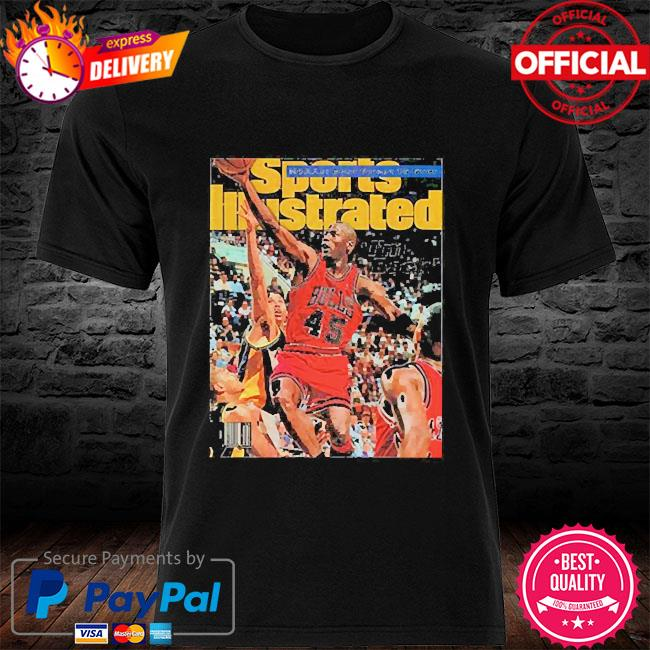 Sports illustrated march 1995 jordan shirt