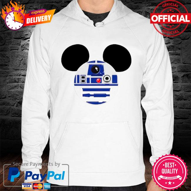 Star wars mickey mouse s hoodie white