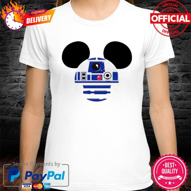 Star wars mickey mouse shirt