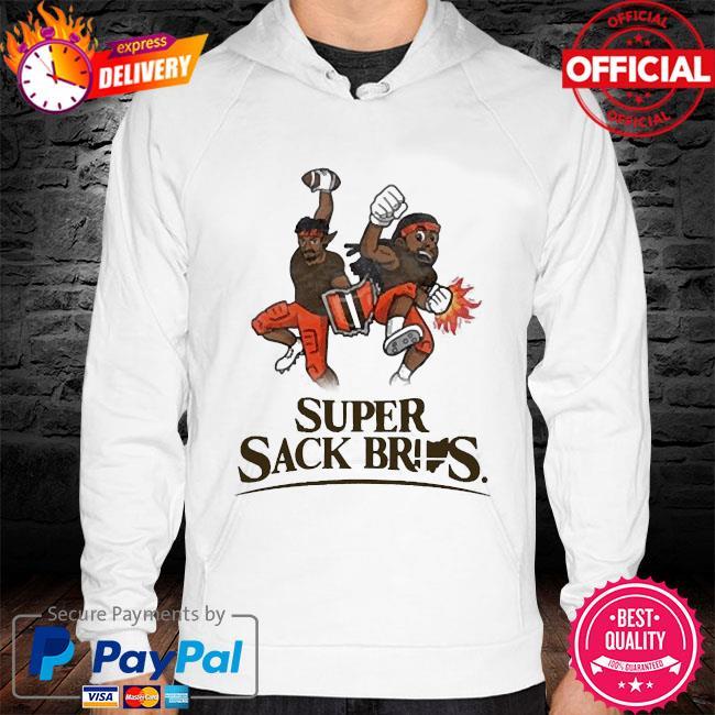 Super sack Bros 2021 s hoodie white