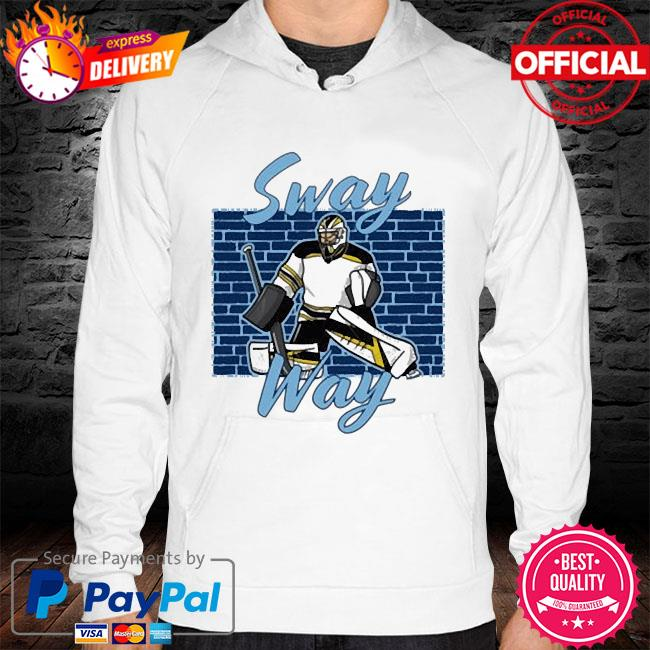 Sway Way Hockey hoodie white