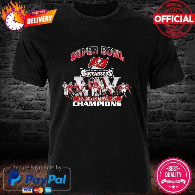 Tampa bay buccaneers super bowl champions 2021 shirt