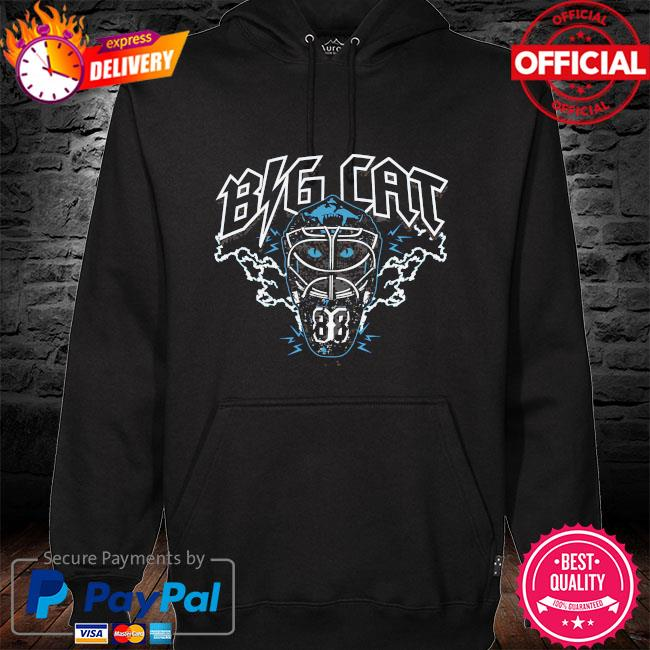 Tampa bay pro hockey Big Cat hoodie black