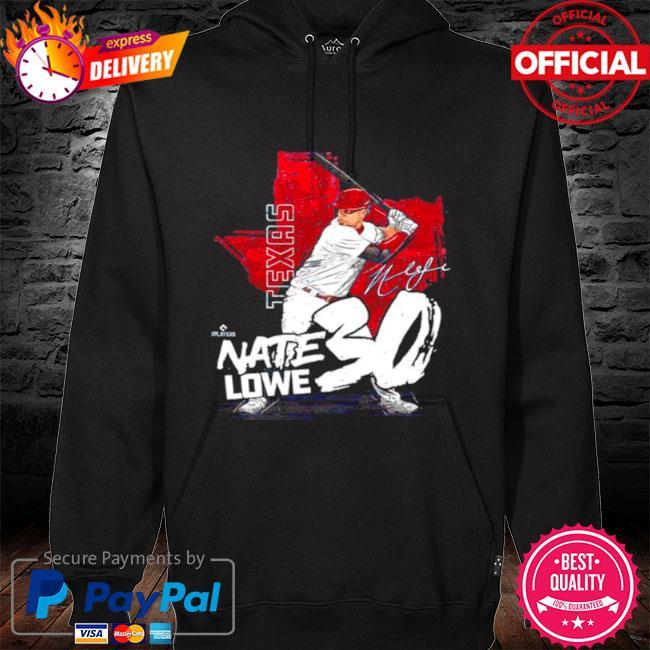 Texas baseball nate lowe nate lowe signature s hoodie black