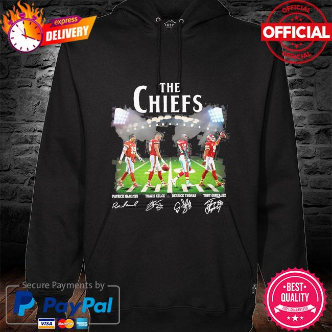 The Chiefs Abbey Road signatures s hoodie black