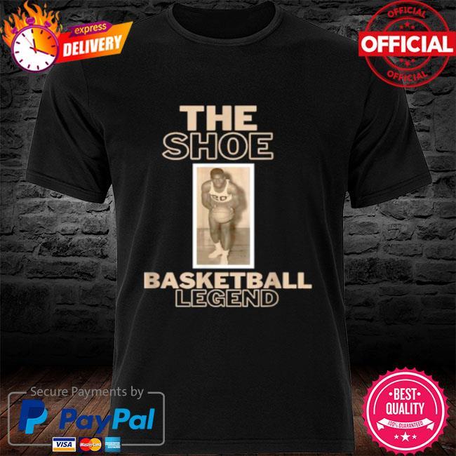 The shoe basketball legend shirt