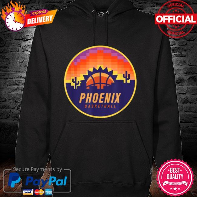 The valley pixel sun rise phoenix arizona basketball s hoodie black