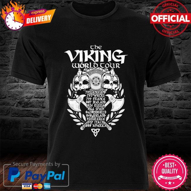 The Viking world Tour shirt