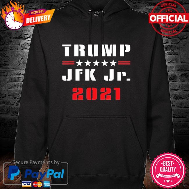 Trump JFK Jr 2021 hoodie black