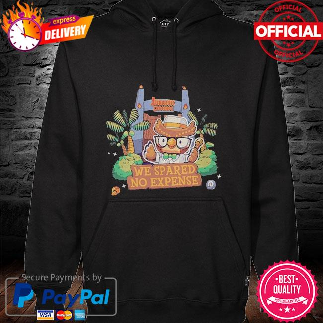 We spared no expense animal crossing hoodie black