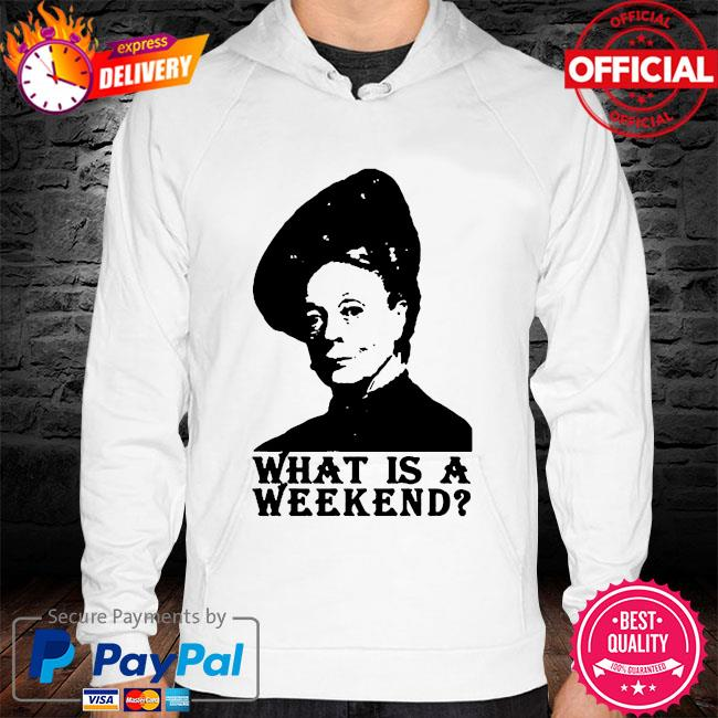 What is a weekend s hoodie white