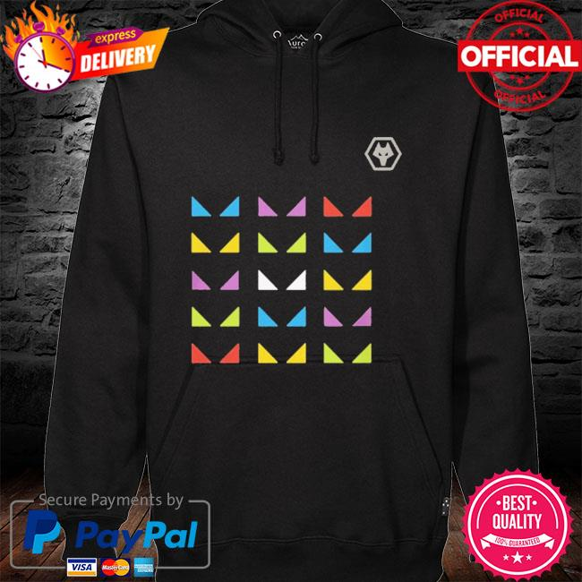 Wolves one pack warm up sure hoodie black