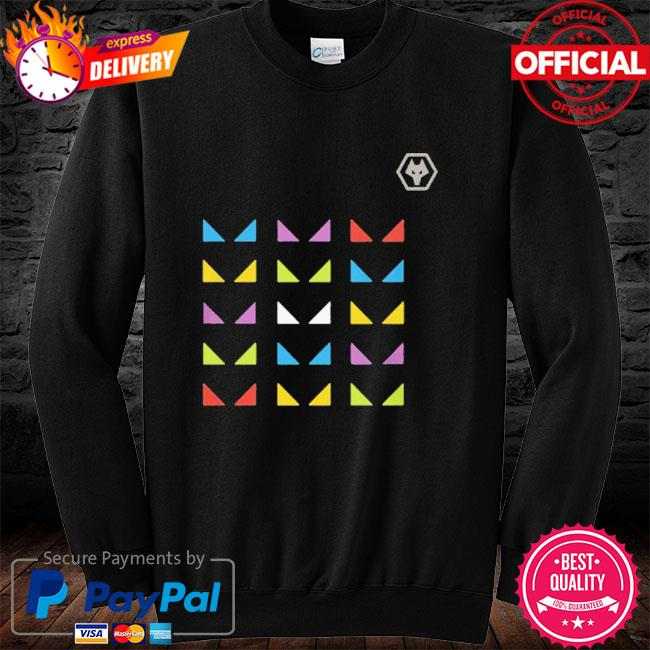 Wolves one pack warm up sure long sleeve black