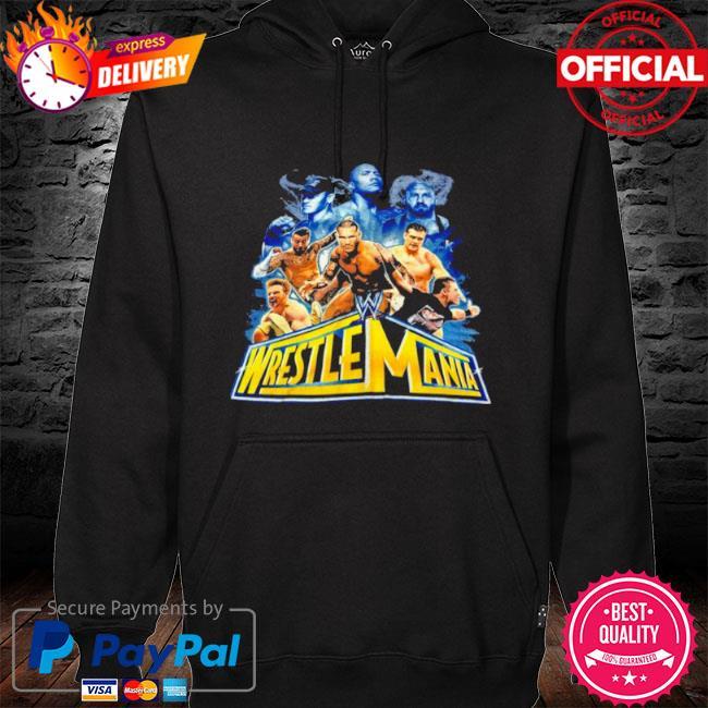 Wrestlemania 2021 wwe fan s hoodie black