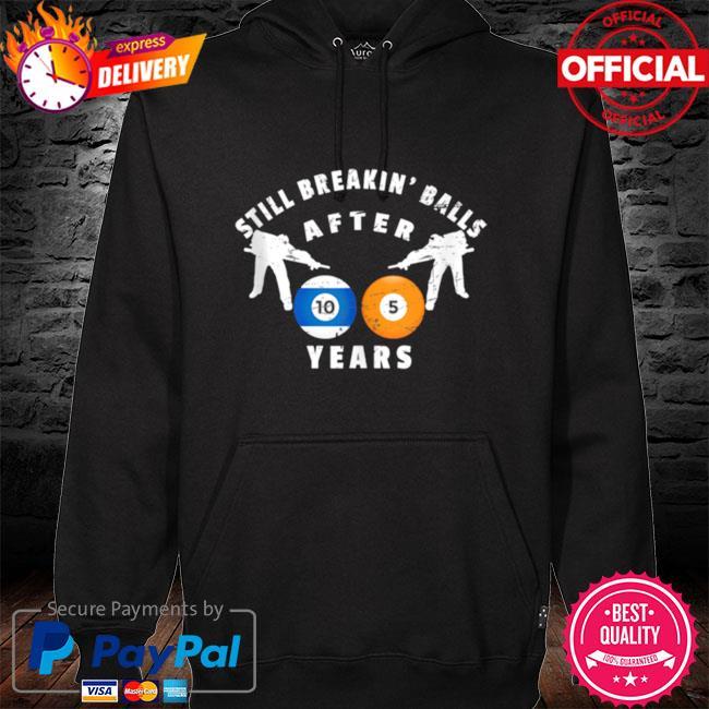 105th billiard birthday party 105 year old birthday hoodie black
