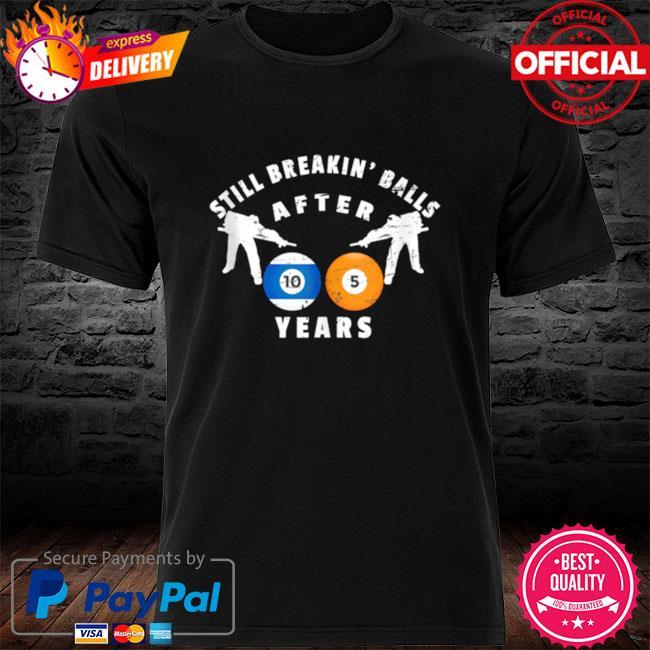 105th billiard birthday party 105 year old birthday shirt