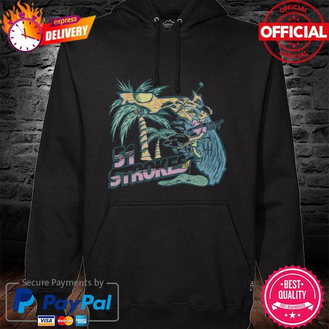 51 strokes Florida hoodie black