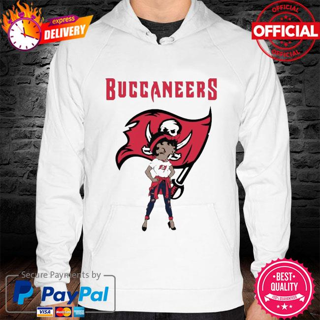 Betty boop tampa bay buccaneers super bowl nfl s hoodie white