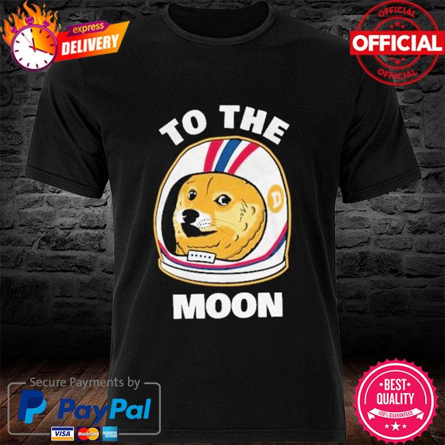 Dogecoin To the moon shirt
