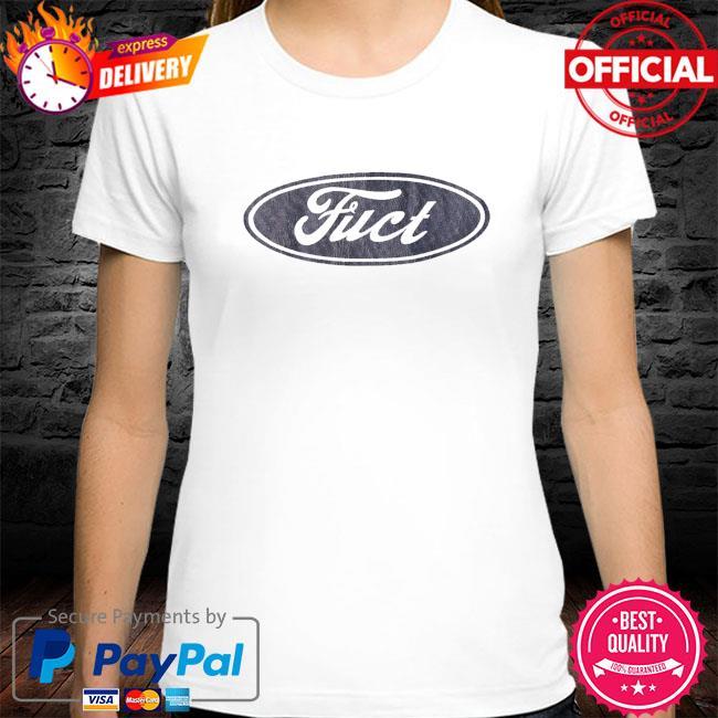 Fuct ssdd f oval logo shirt