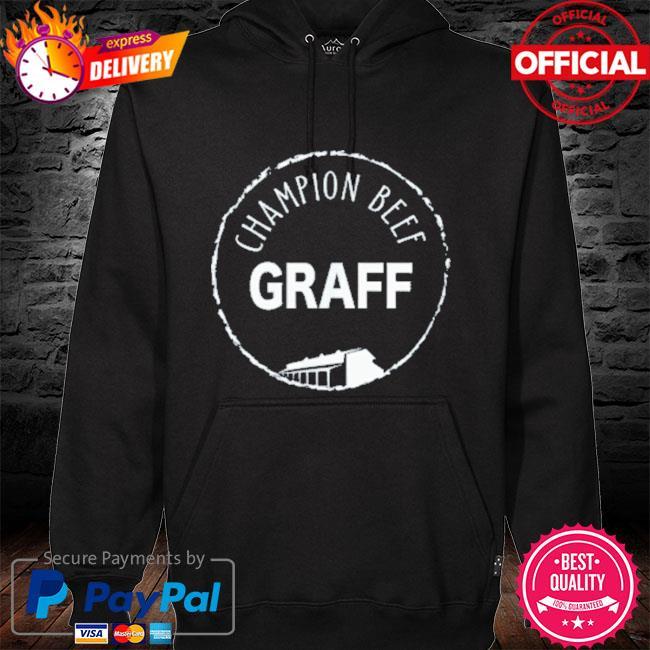 Graff champion beef s hoodie black