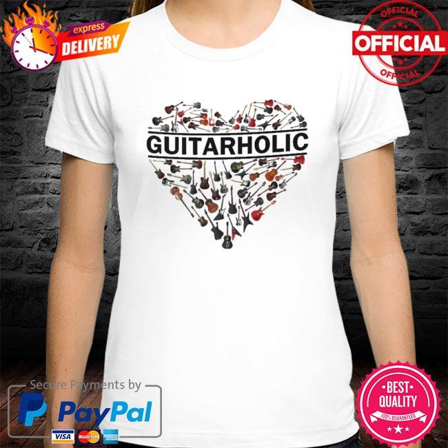 Heart Guitarholic shirt