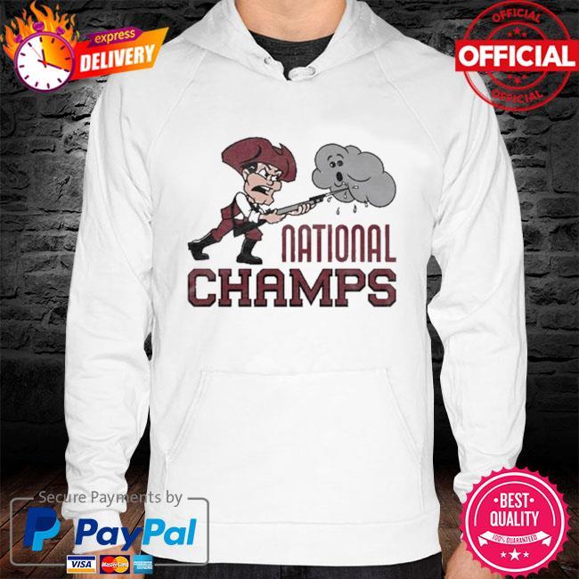 Hockey National Champs Umass Minutemen Shirt hoodie white