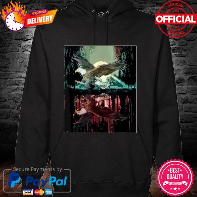 Jungle aesthetic hawk s hoodie black