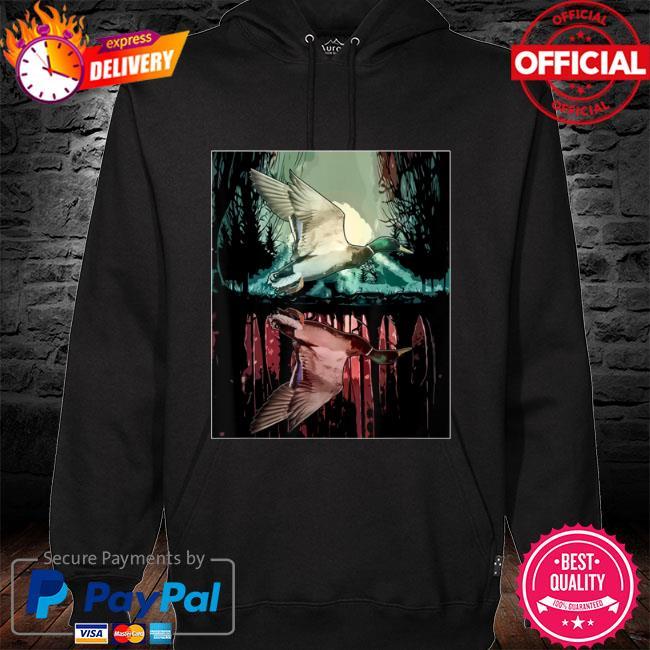Jungle aesthetic mallard s hoodie black