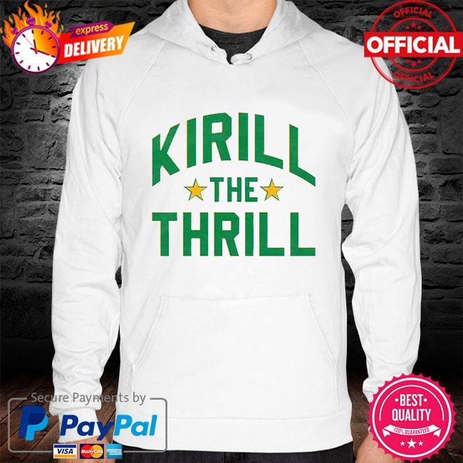 Kirill the Thrill hoodie white