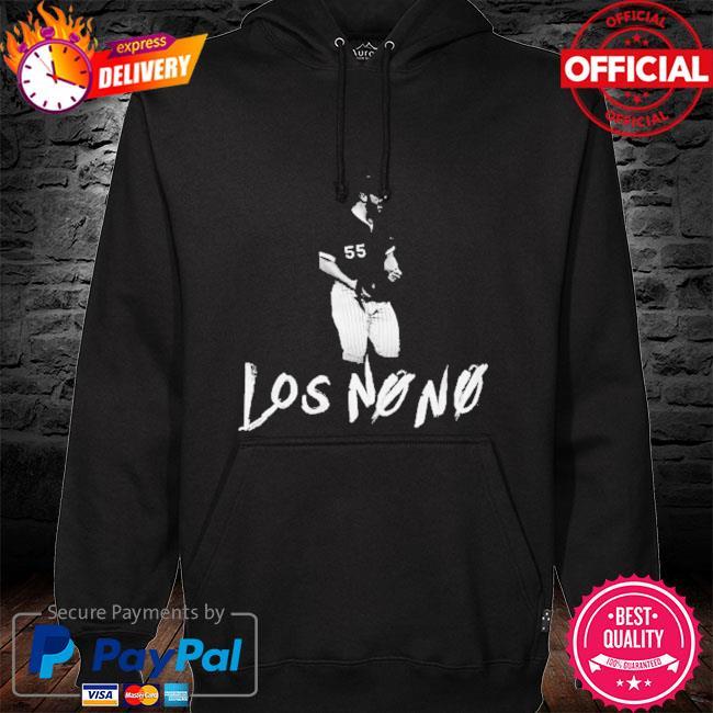 Los no no hoodie black