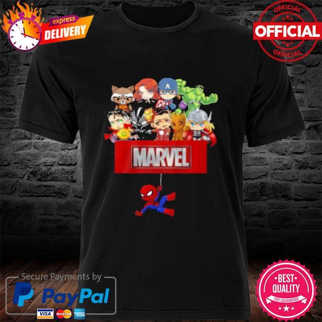 Marvel Hero Spider Man Avengers Shirt