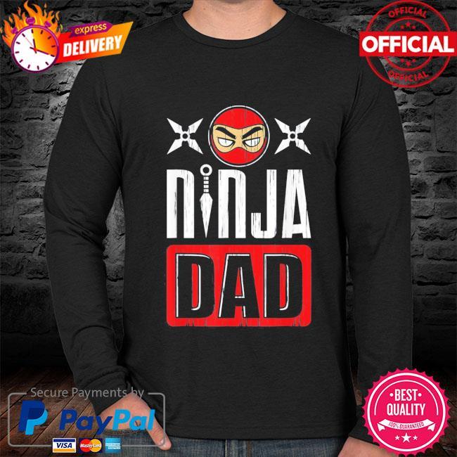 Ninja dad father's day s sweater black