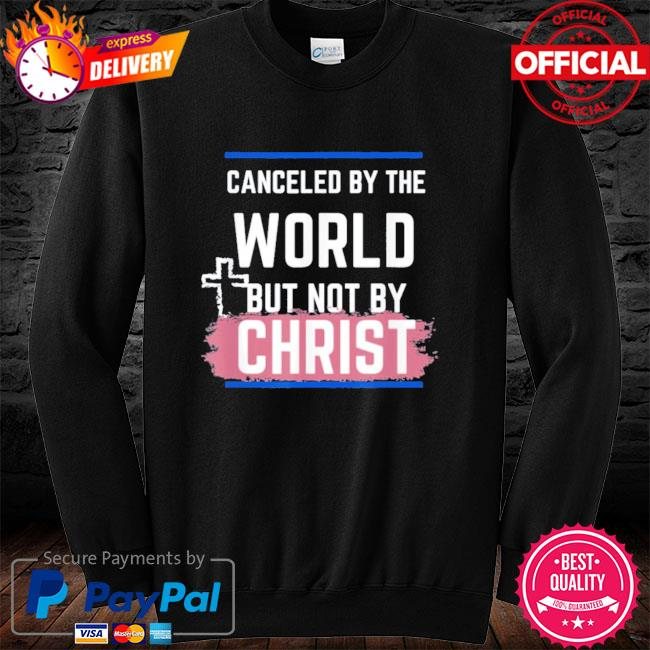 Not canceled by christ s long sleeve black