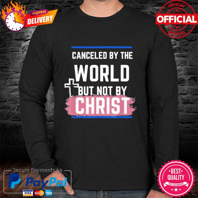 Not canceled by christ s sweater black