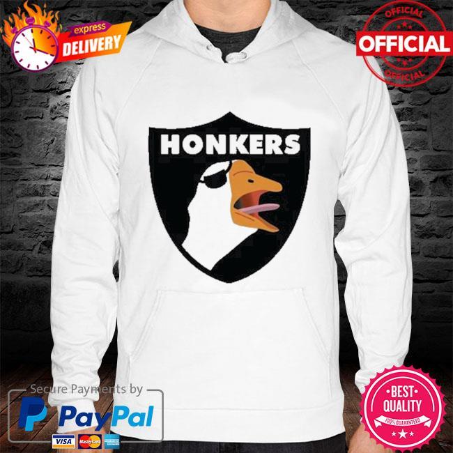 Oakland raiders honkers hoodie white
