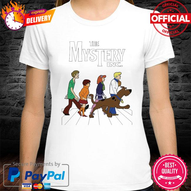 Official scooby doo the mystery inc abbey road shirt
