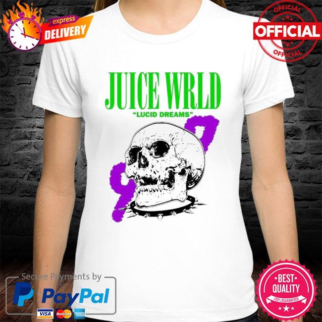 Rip juice wrld lucid dreams 999 skull shirt