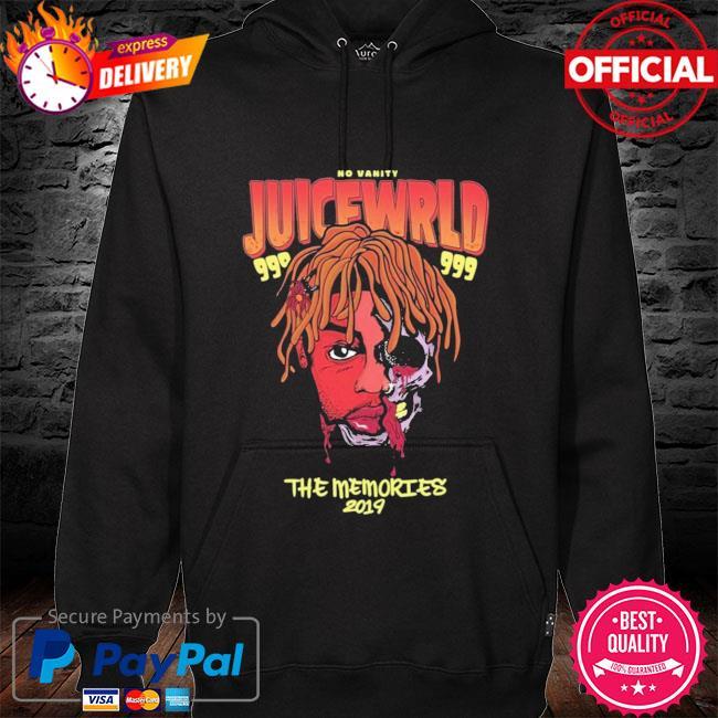 RIP Juice Wrld The Memories 2019-2021 Shirt hoodie black