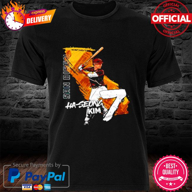 San Diego Baseball Ha Seong Kim 7 signature shirt