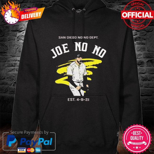 San diego no no dept Joe no no hoodie black