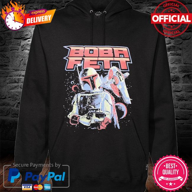 Star Wars Boba Fett Vintage hoodie black
